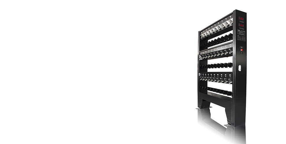 WISDOM NWCR-30: High-efficiency Charger Rack